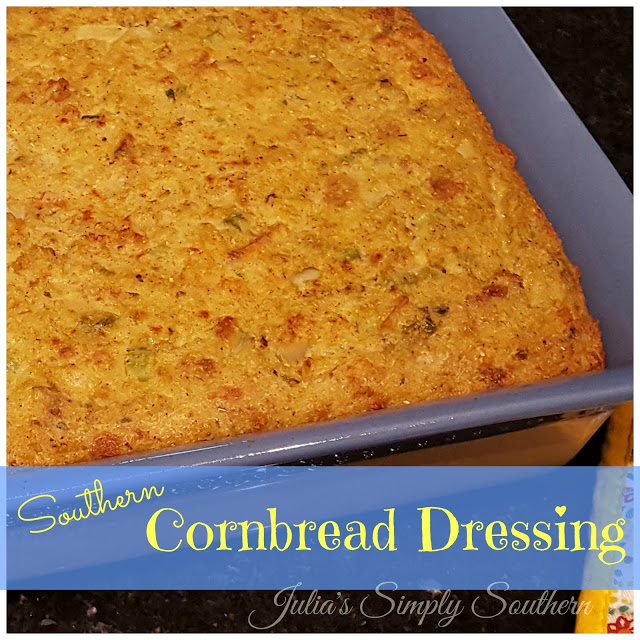 Southern Baked Cornbread Dressing