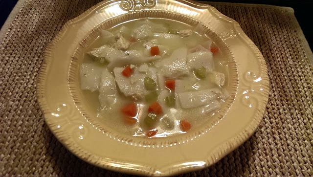 Chicken and Dumpling Soup with Vegetables - Julia's Simply Southern