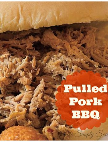 Pulled pork for barbecue
