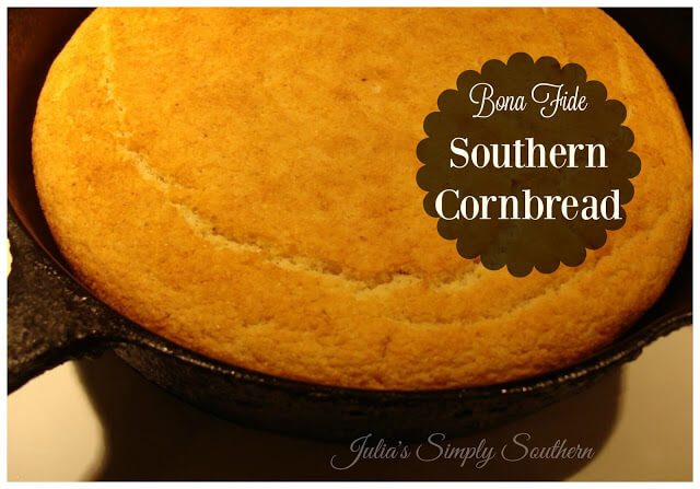Bona Fide Southern Cornbread