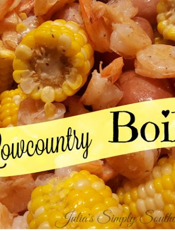 Lowcountry Shrimp Boil
