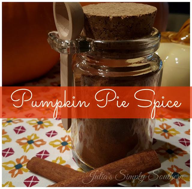 Homemade Pumpkin Pie Spice Blend Recipe