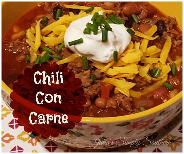 Hearty Chili Con Carne