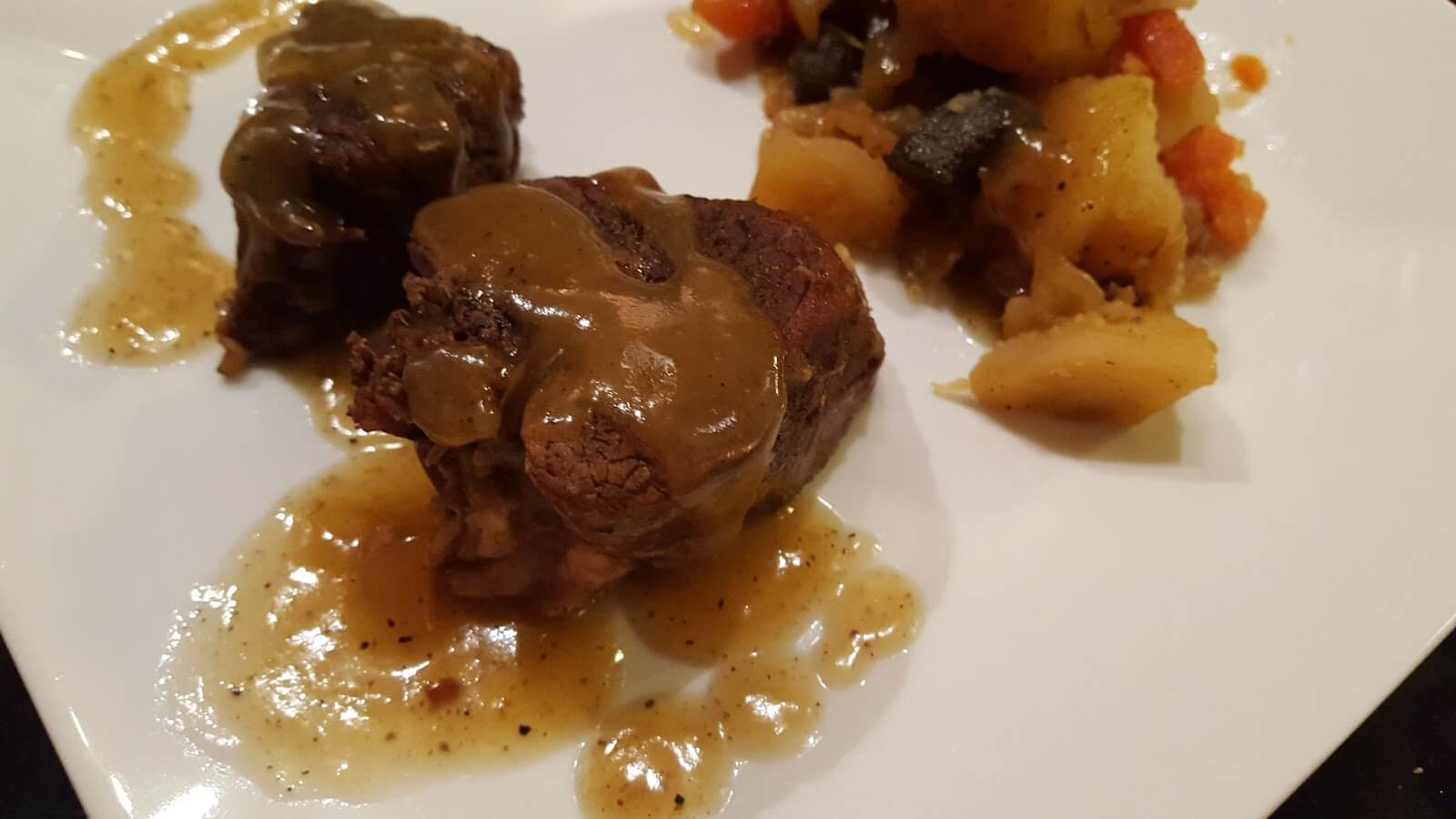 old fashioned pot roast dinner