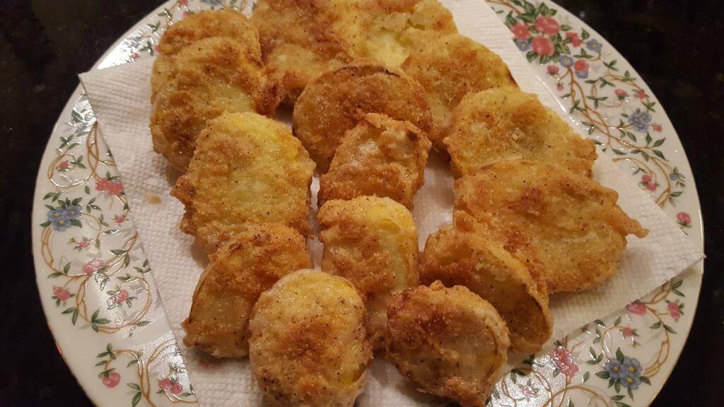 Delicious fried squash recipe