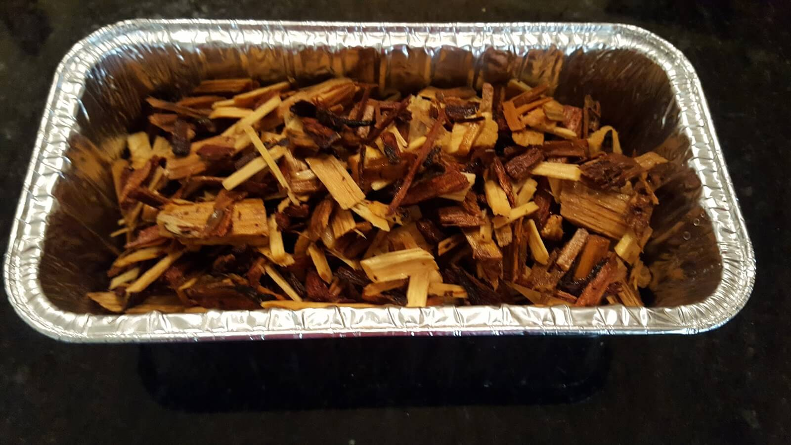 Soak wood chips before smoking chicken