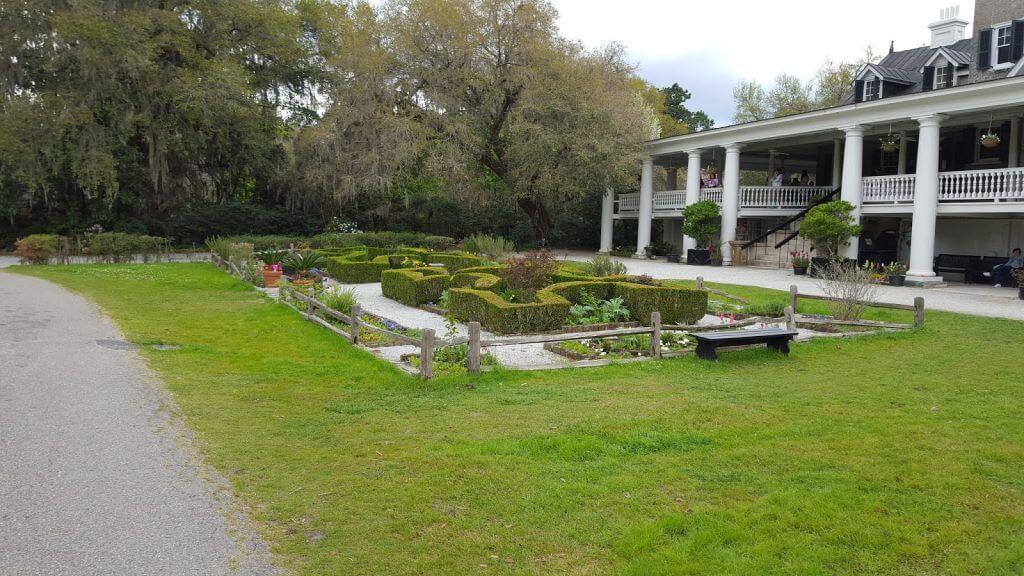 front formal garden