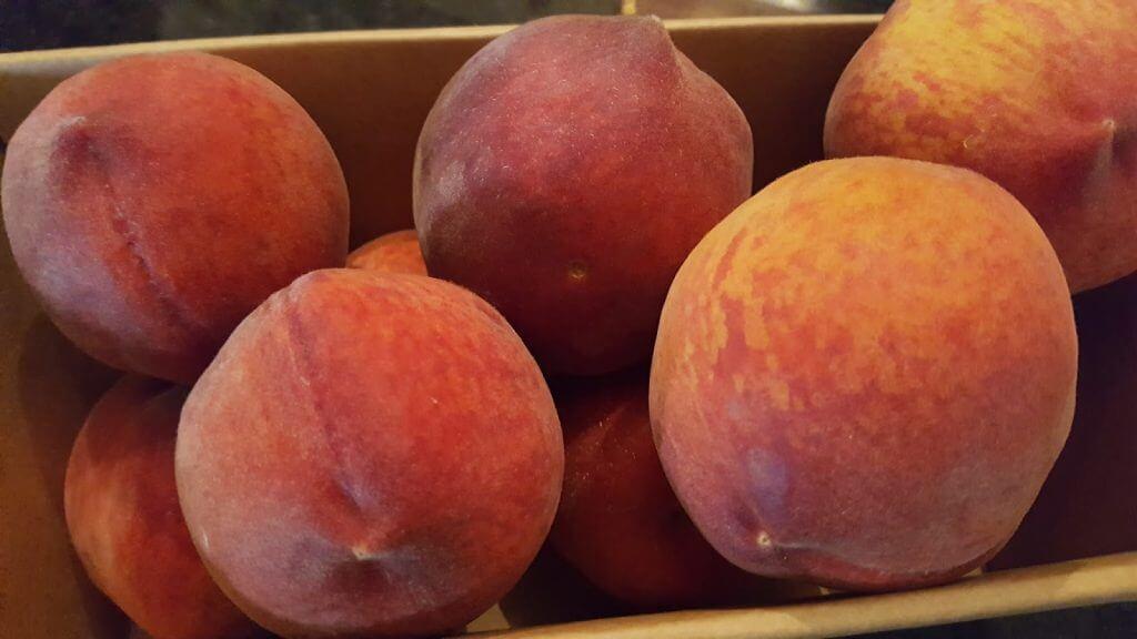 Fresh South Carolina Peaches