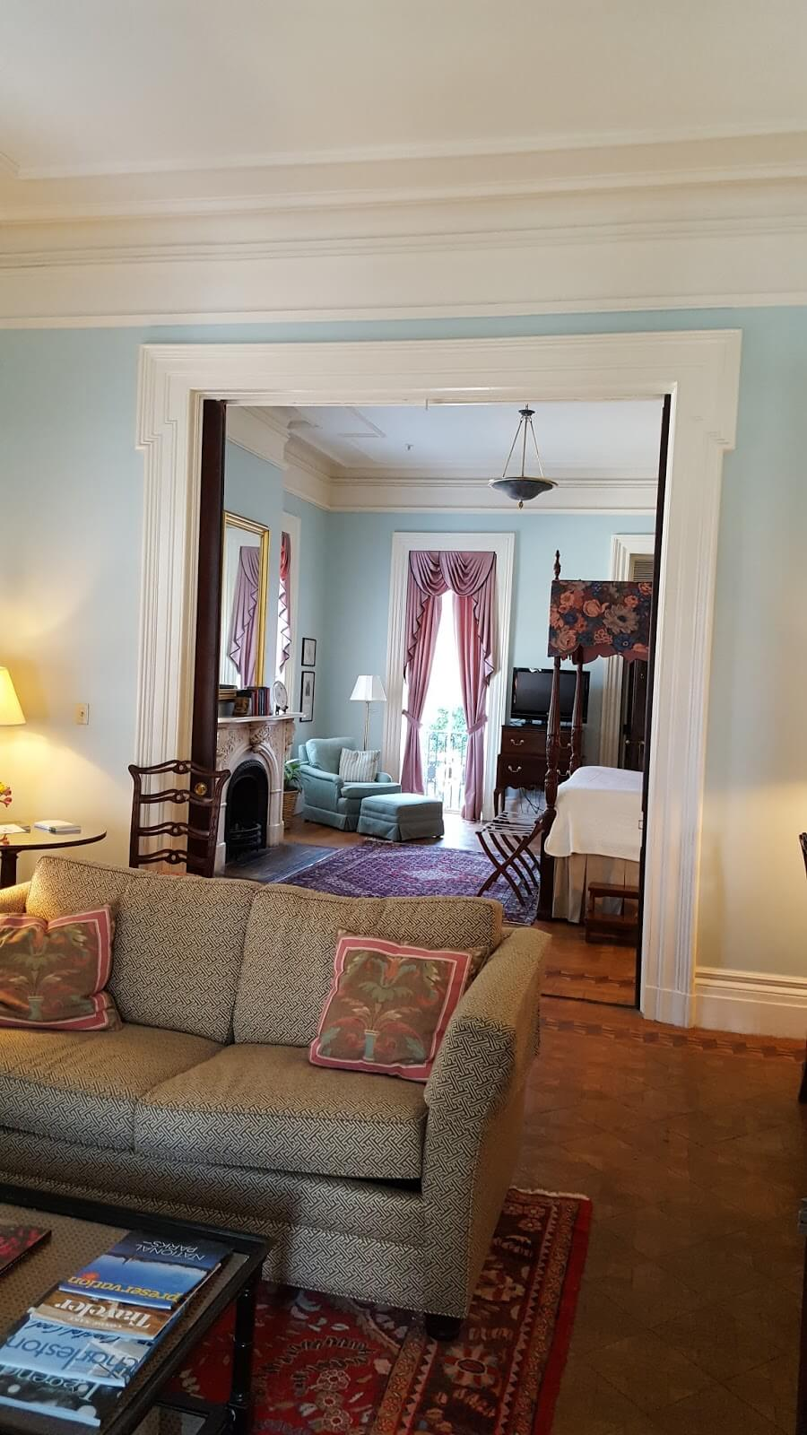 Suite at John Rutledge Bed and Breakfast in Charleston SC - Traveling