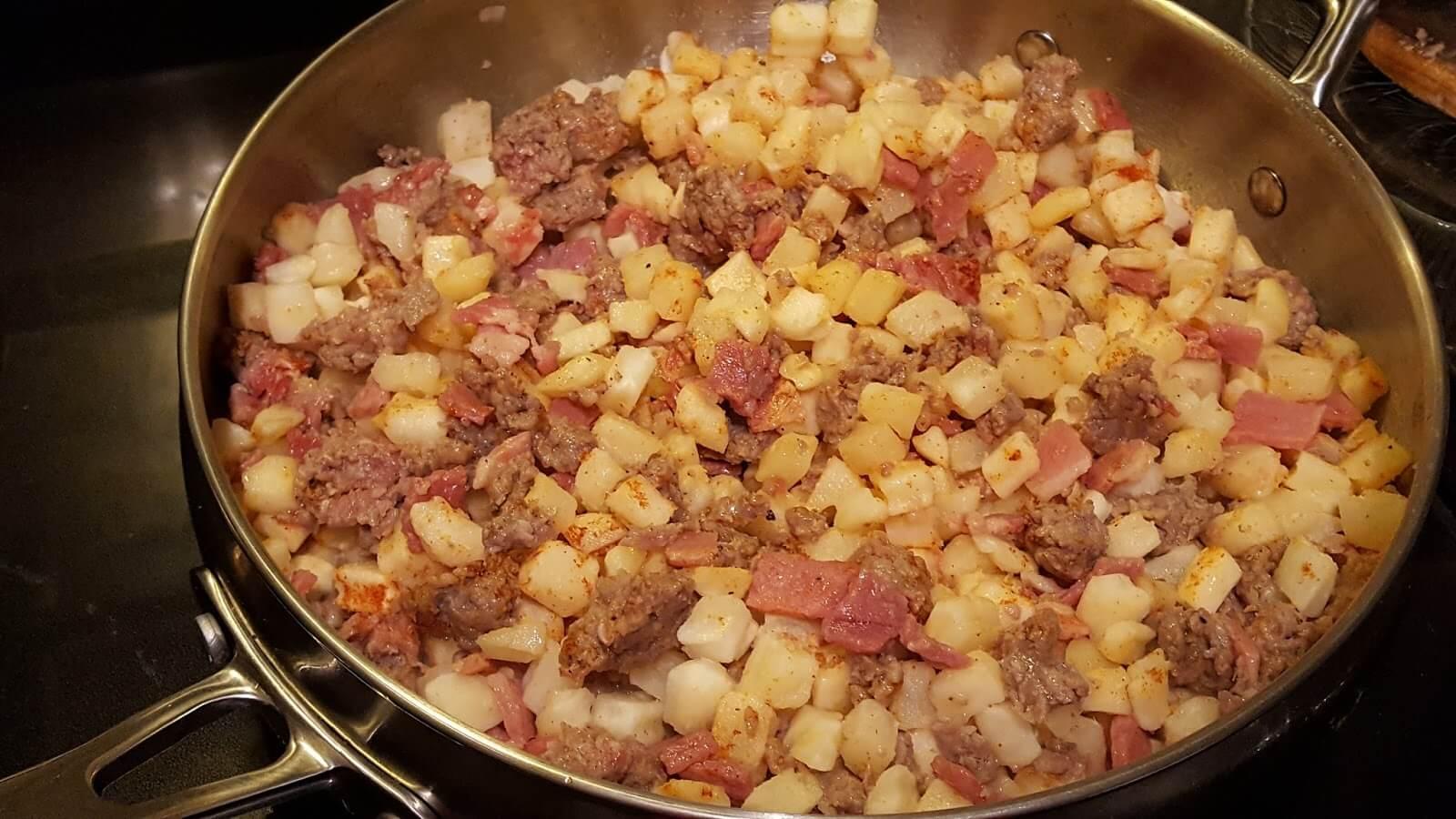 Breakfast skillet recipes