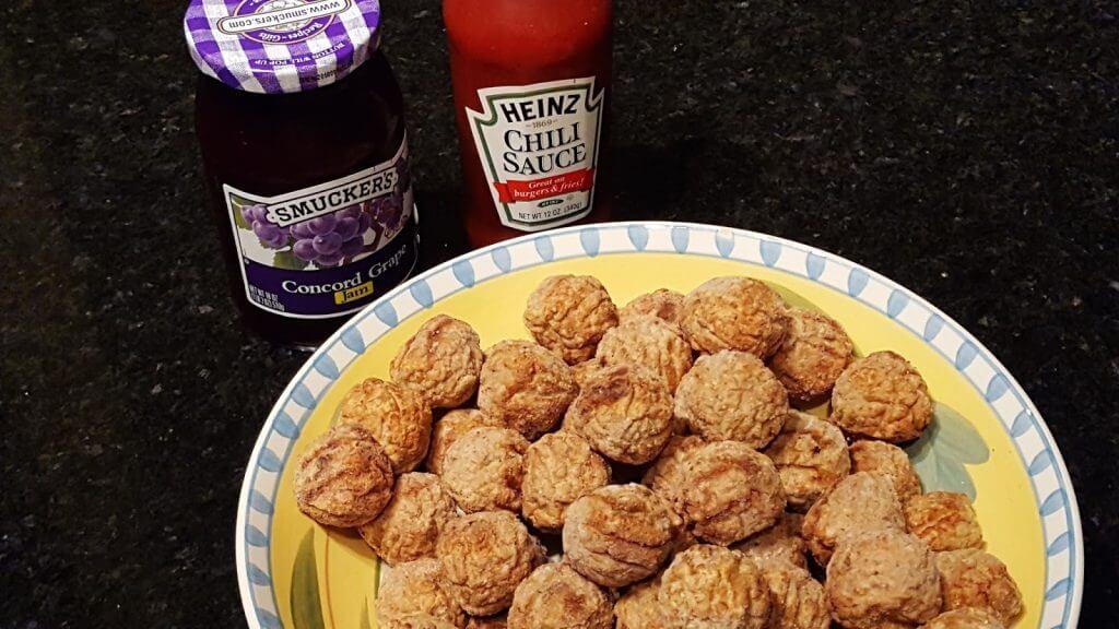 Meatball appetizer recipe ingredients