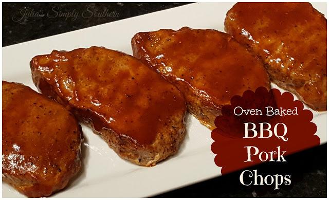 Oven Baked BBQ Pork Chops