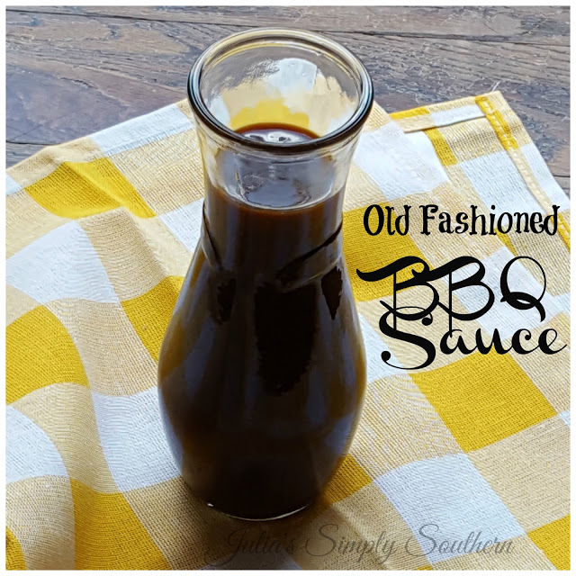 Old Fashioned BBQ Sauce