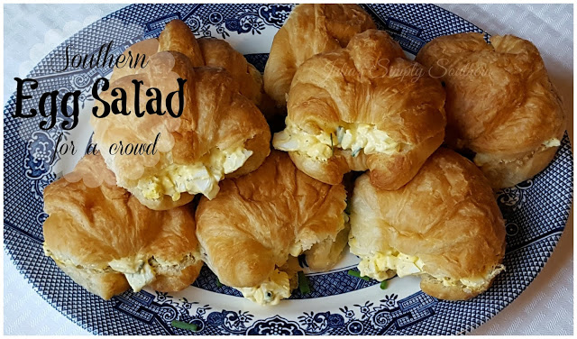 Southern Egg Salad For A Crowd