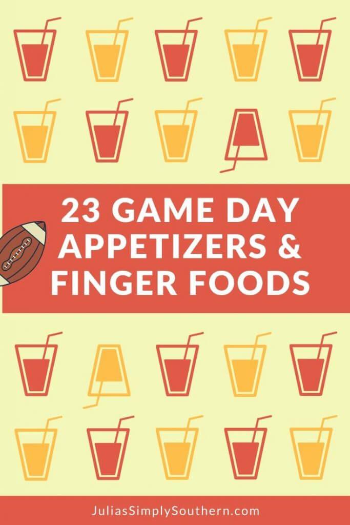Football party menu ideas with recipes