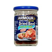 Armour Ground & Formed Sliced Dried Beef 2.25 oz (Pack of 3)