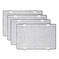 "Tebery 4 Pack Cooling Racks Baking Rack - 16"" x 10"""