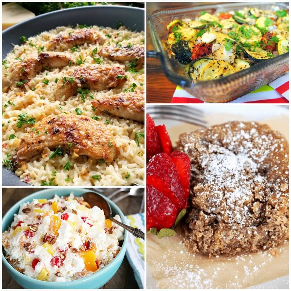 Meal Plan Monday 173 collage of recipes