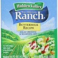 Hidden Valley - Original Ranch - Buttermilk Recipe - Salad Dressing & Seasoning Mix - Makes 16 FL OZ (473 mL) - Net Wt. 0.4 OZ (11 g) - Pack of 5 Packets