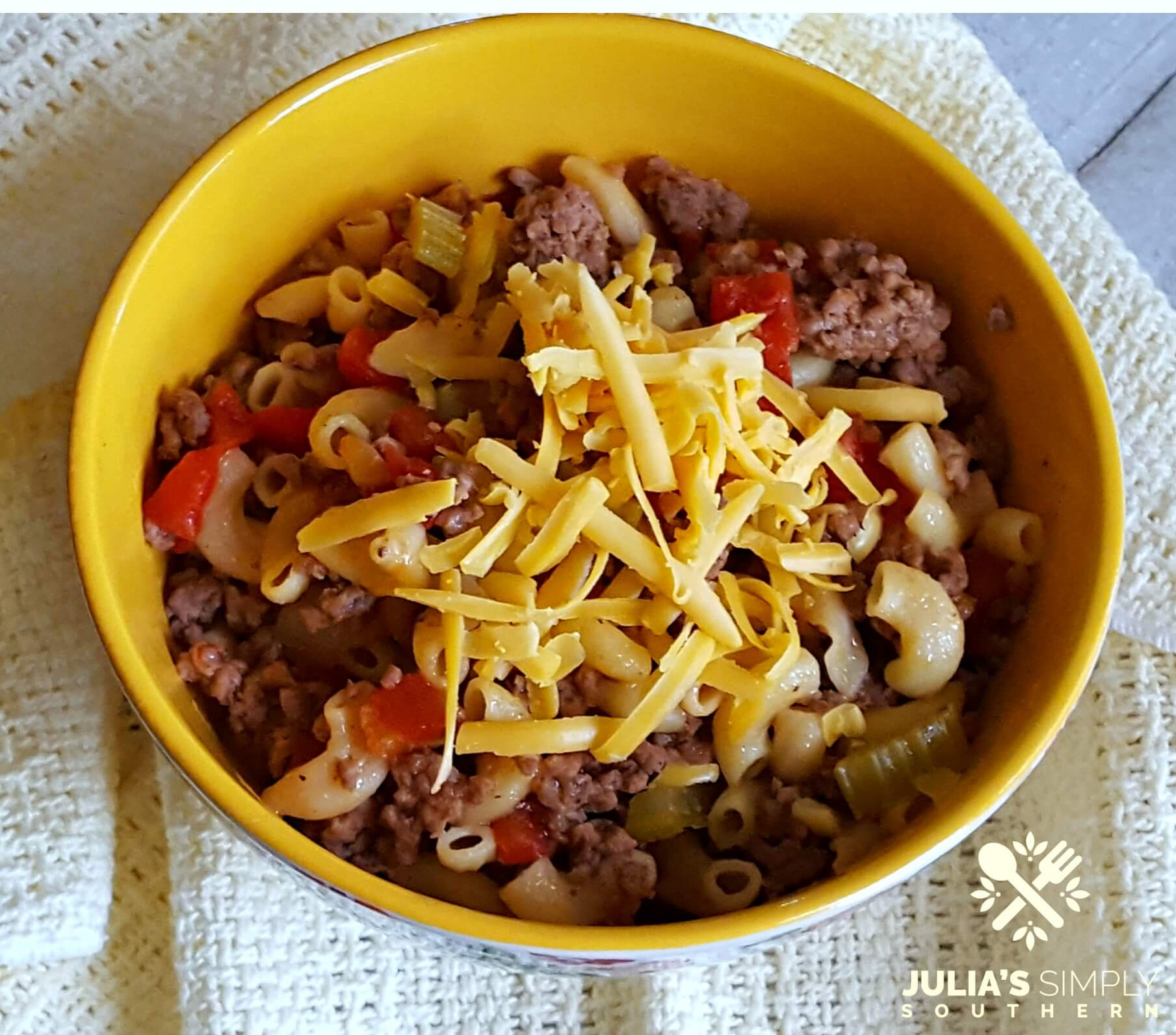 American Goulash Recipe - Southern Goulash - Easy