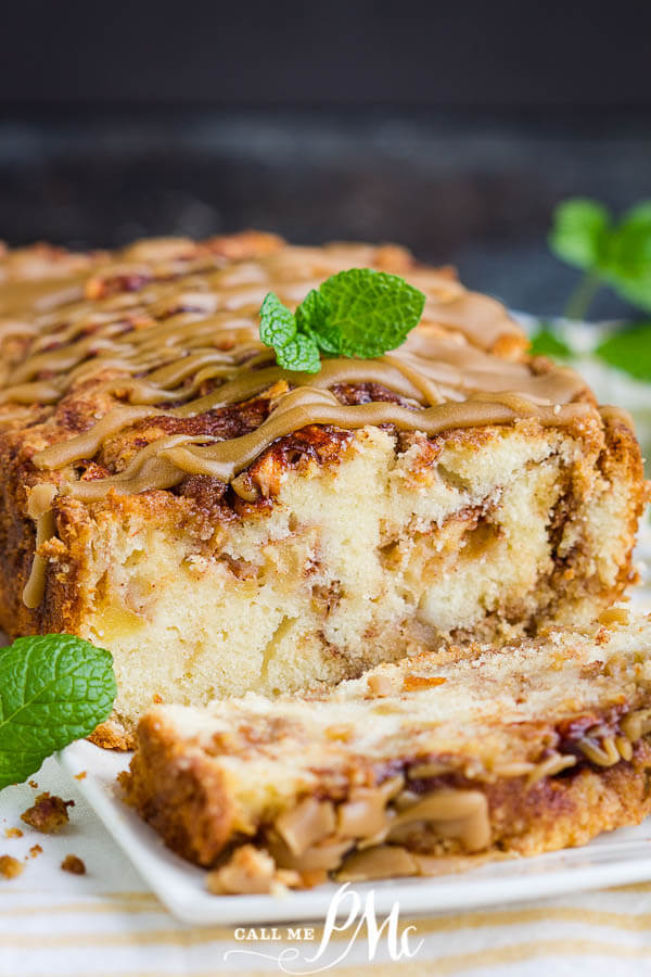 Amish Apple Bread Loaf - Meal Plan Monday 244