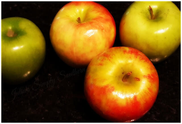 Fall Mountain Apples