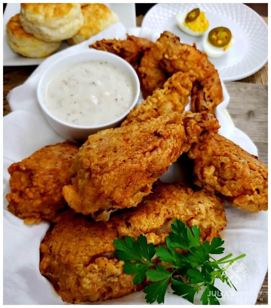Perfect seasoned fried chicken recipe