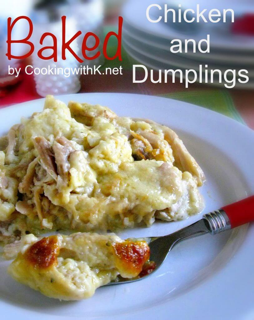 Baked Chicken and Dumplings Casserole