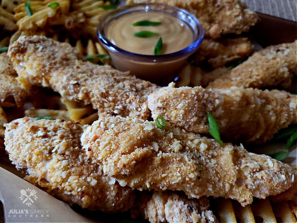 crispy oven chicken tenders
