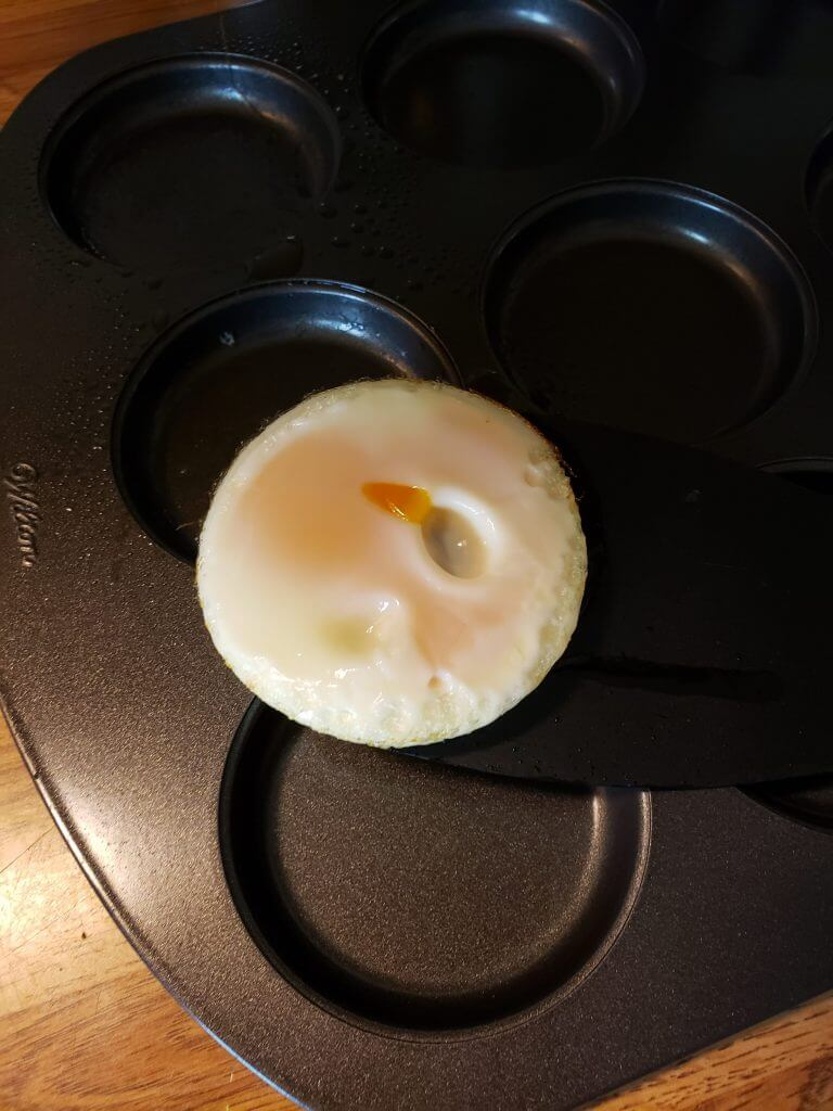 Baked Egg for English Muffin Sandwich