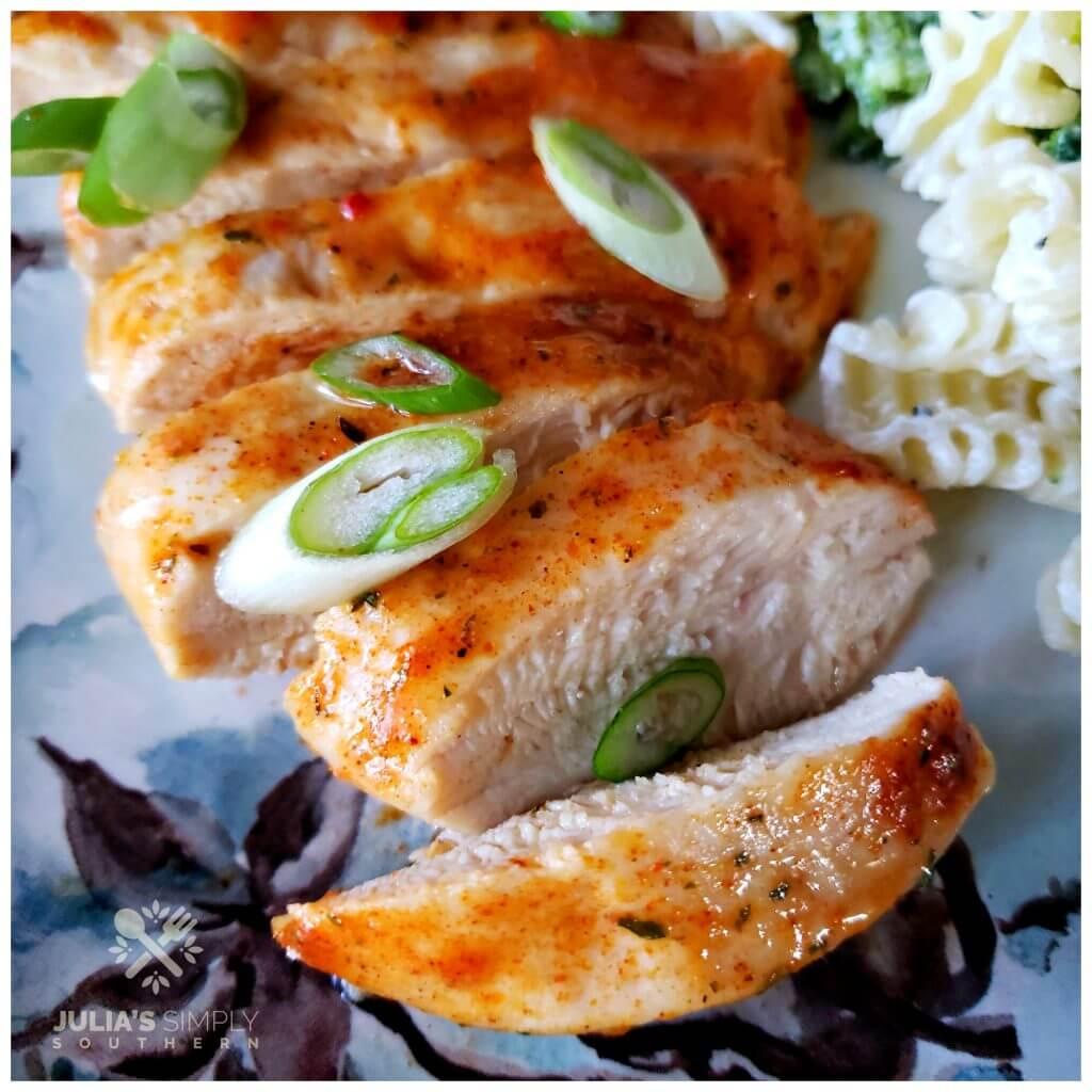 Easy Hidden Valley Ranch Chicken Recipe on a plate