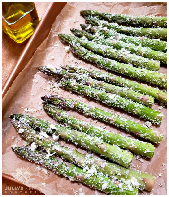 Beautiful and delicious Parmesan Crusted Asparagus Recipe