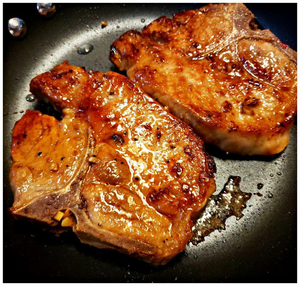 skillet sauté meat