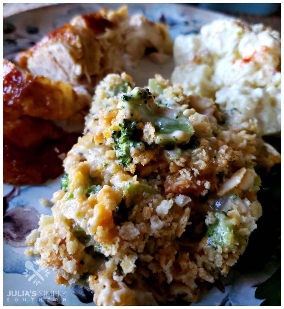 Recipe for old fashioned broccoli casserole