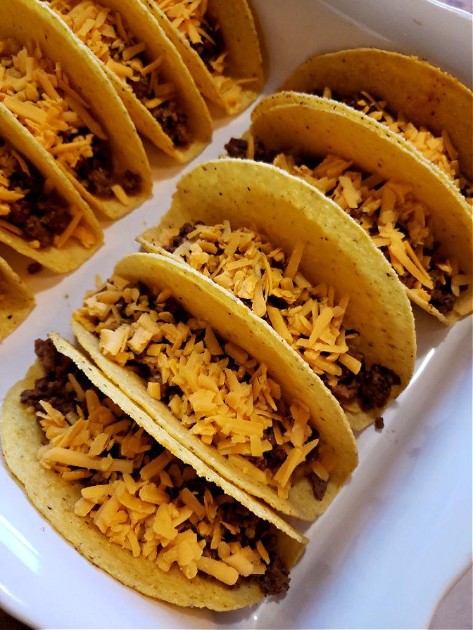 How to bake tacos - Easy Cheesy Oven Baked Tacos Recipe