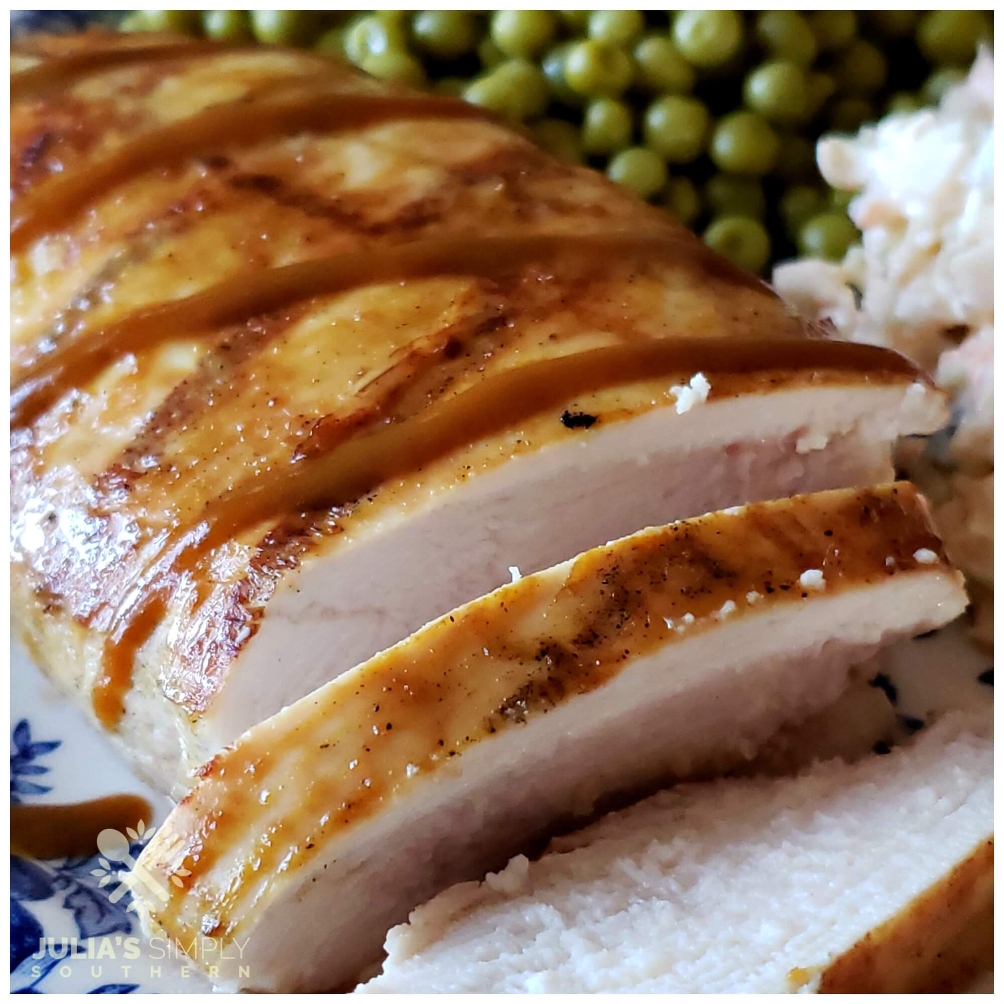 Best Southern style grilled barbecue chicken breast