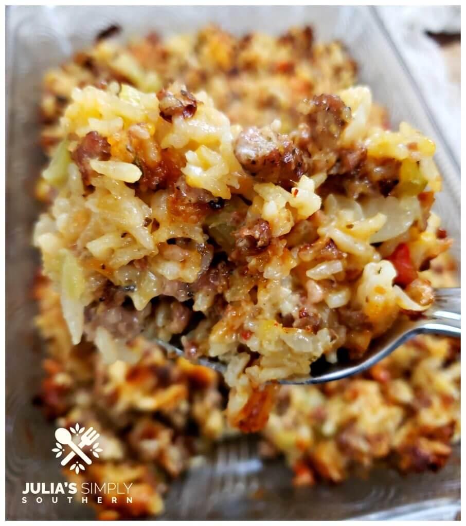 Thanksgiving Rice Dressing