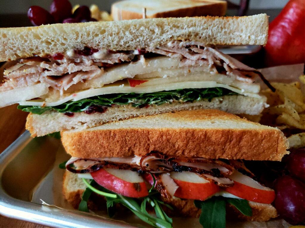 Best Turkey Sandwich Recipe with Pear