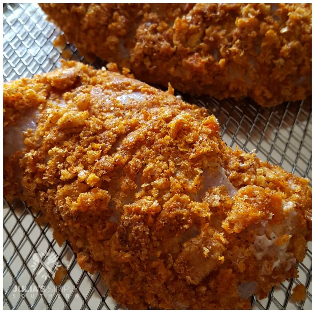 How to prepare chicken to be crunchy in the air fryer