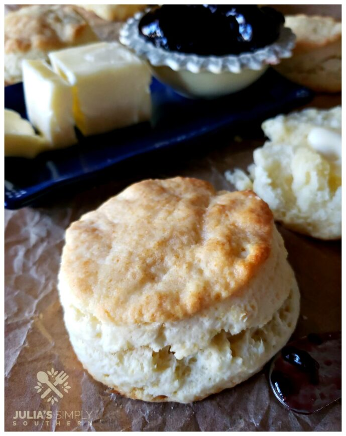 Light Airy Cream Biscuits Recipe