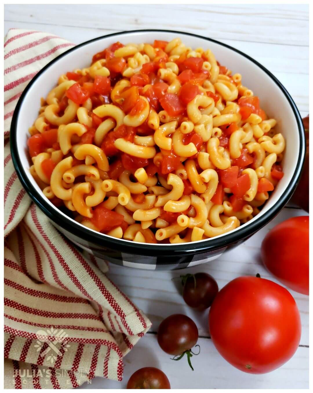 Tried and True Macaroni and Tomatoes Recipe