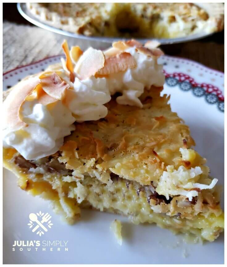 Southern Dessert Recipes - Coconut Pecan Chess Pie