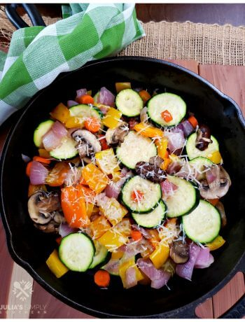 How to make a delicious and healthy vegetable medley side dish