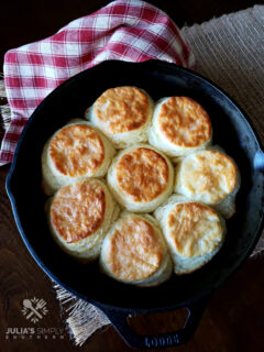 Easy Southern Self Rising biscuits Recipe