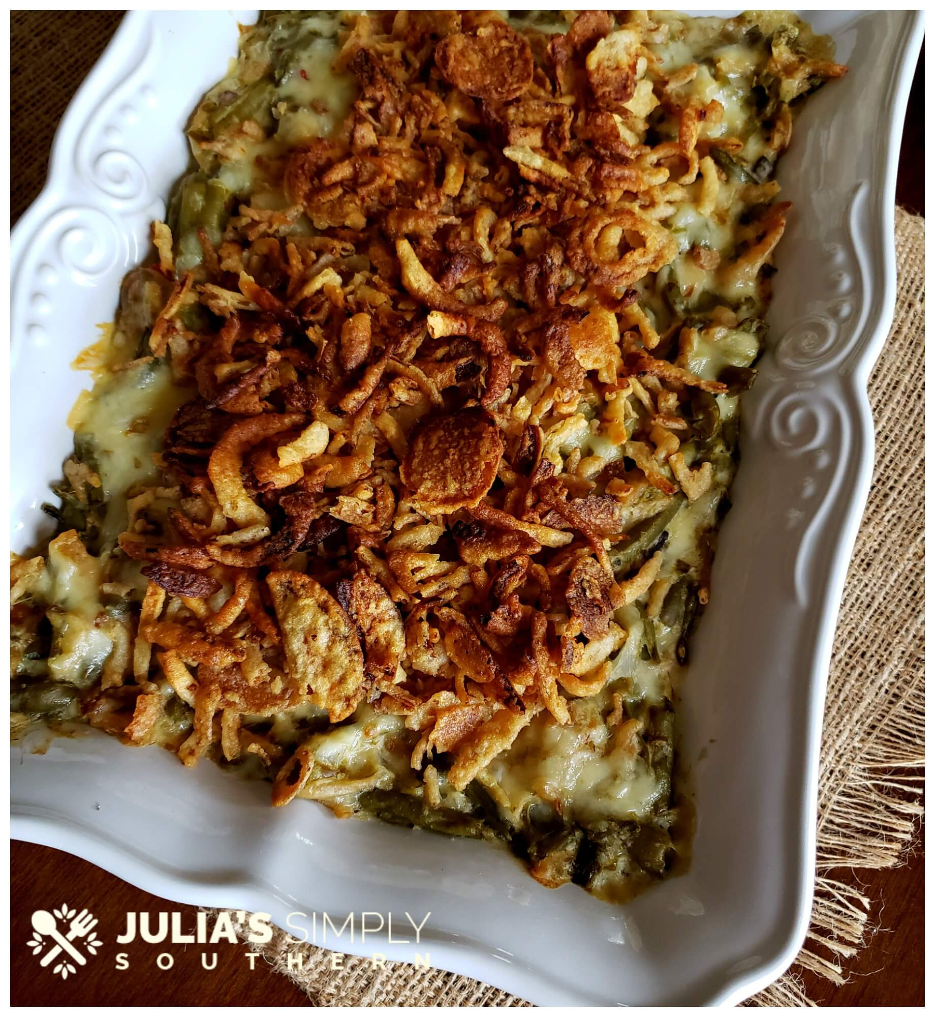 The Ultimate Holiday Green Bean Casserole Recipe - So delicious and easy