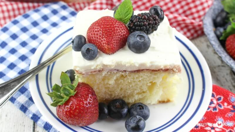 Southern Plate Chantilly Cake