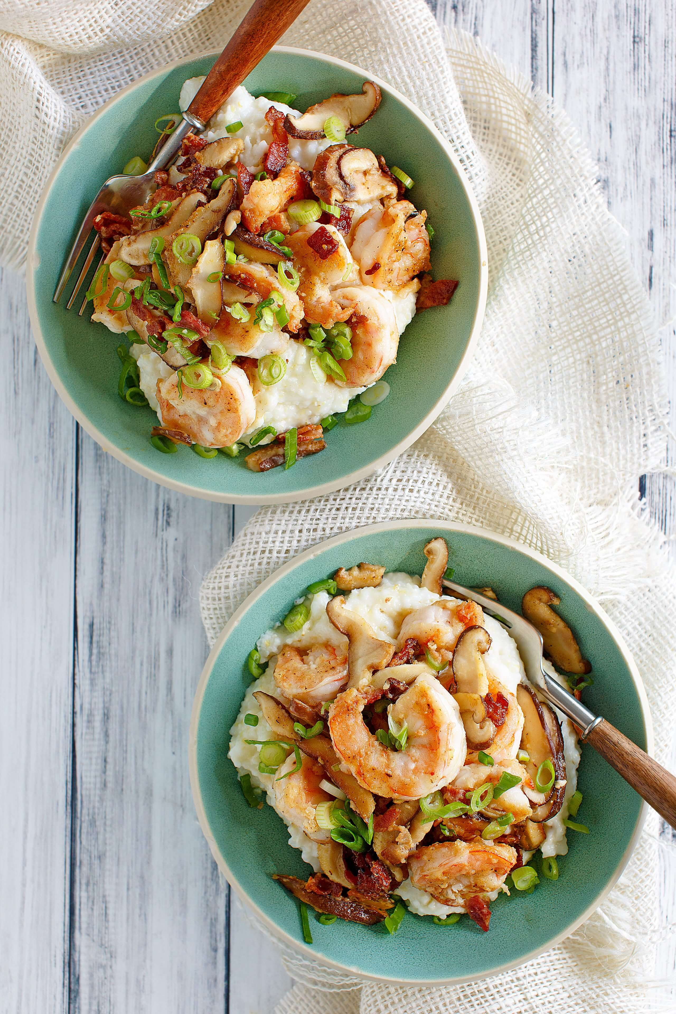 Best Southern shrimp and grits recipe - Julia's Simply Southern
