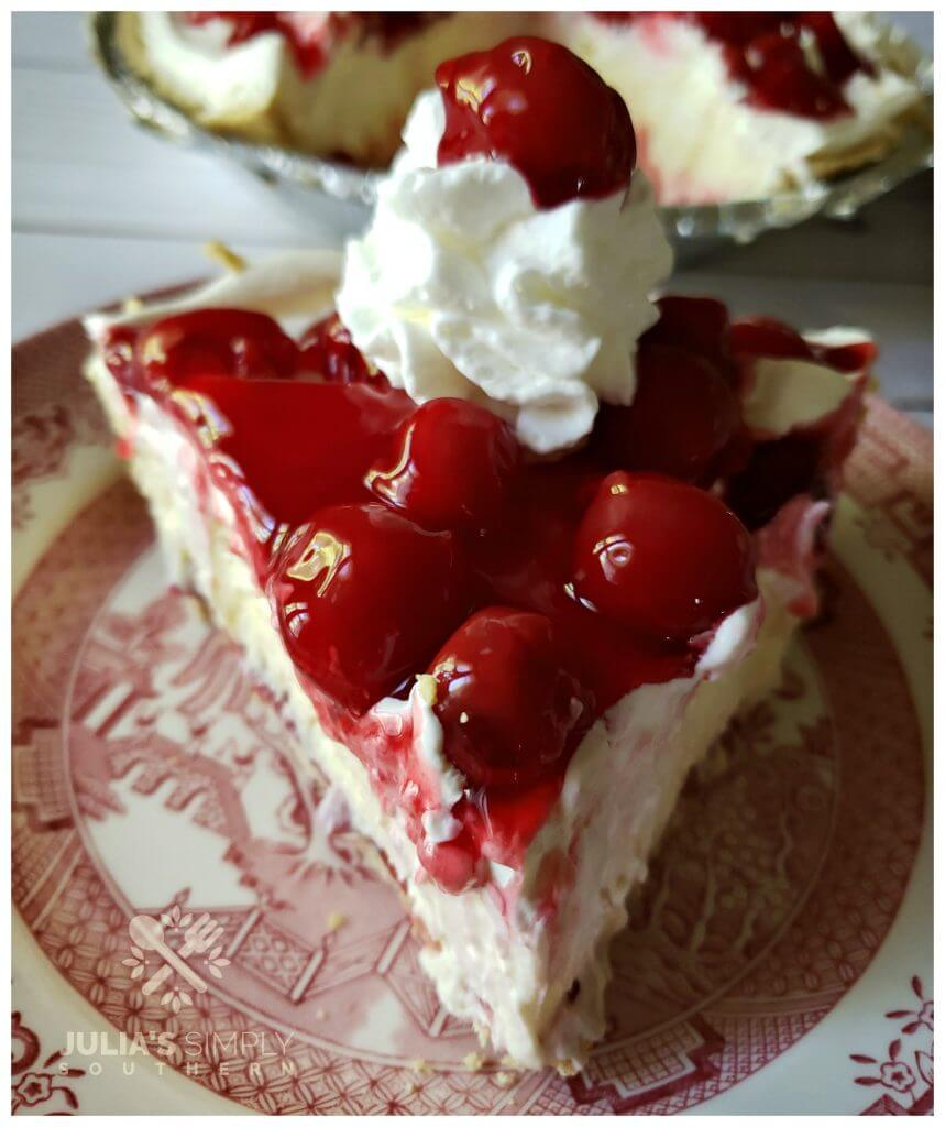 Best every no bake cherry cream cheese pie