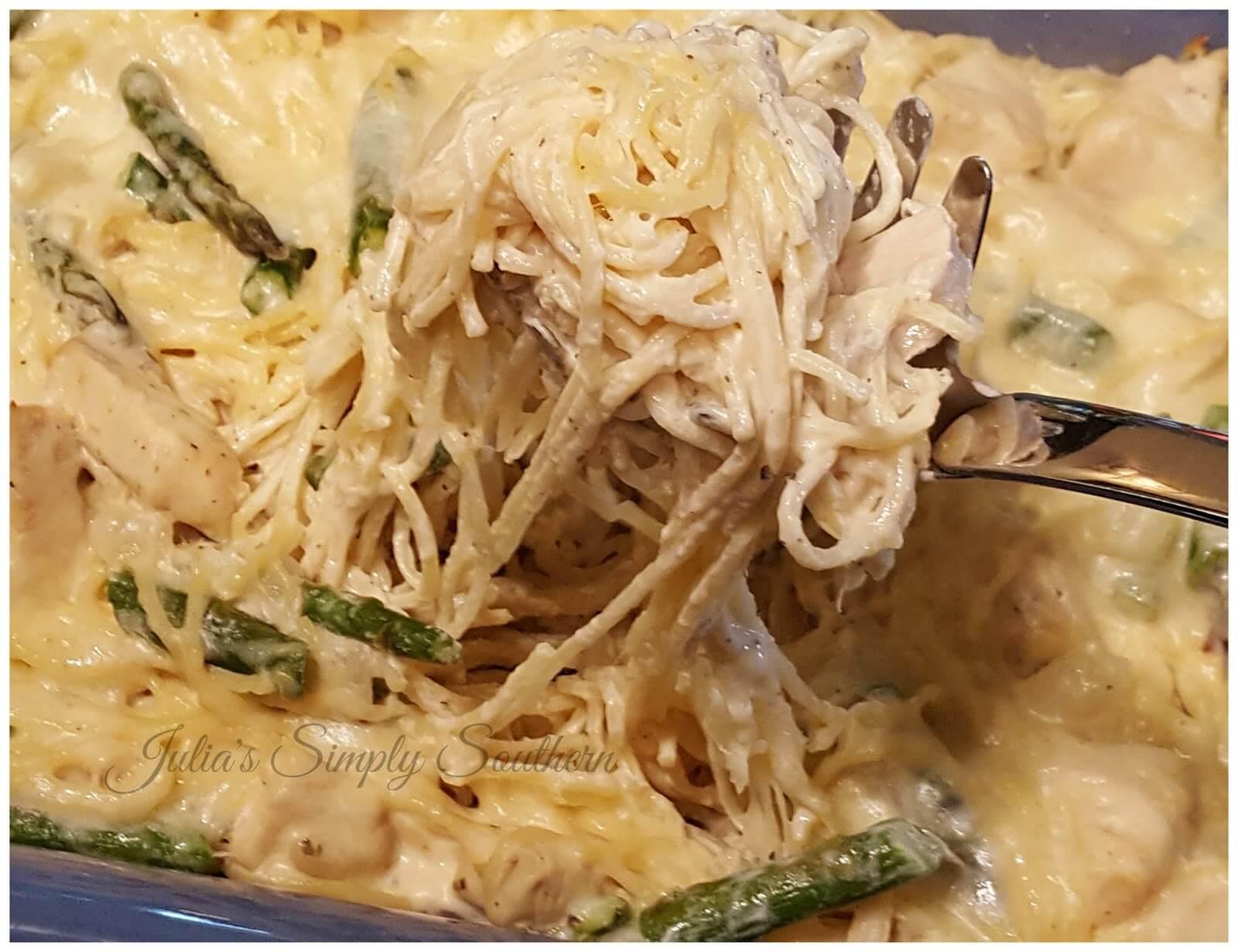 Chicken Pasta Asparagus