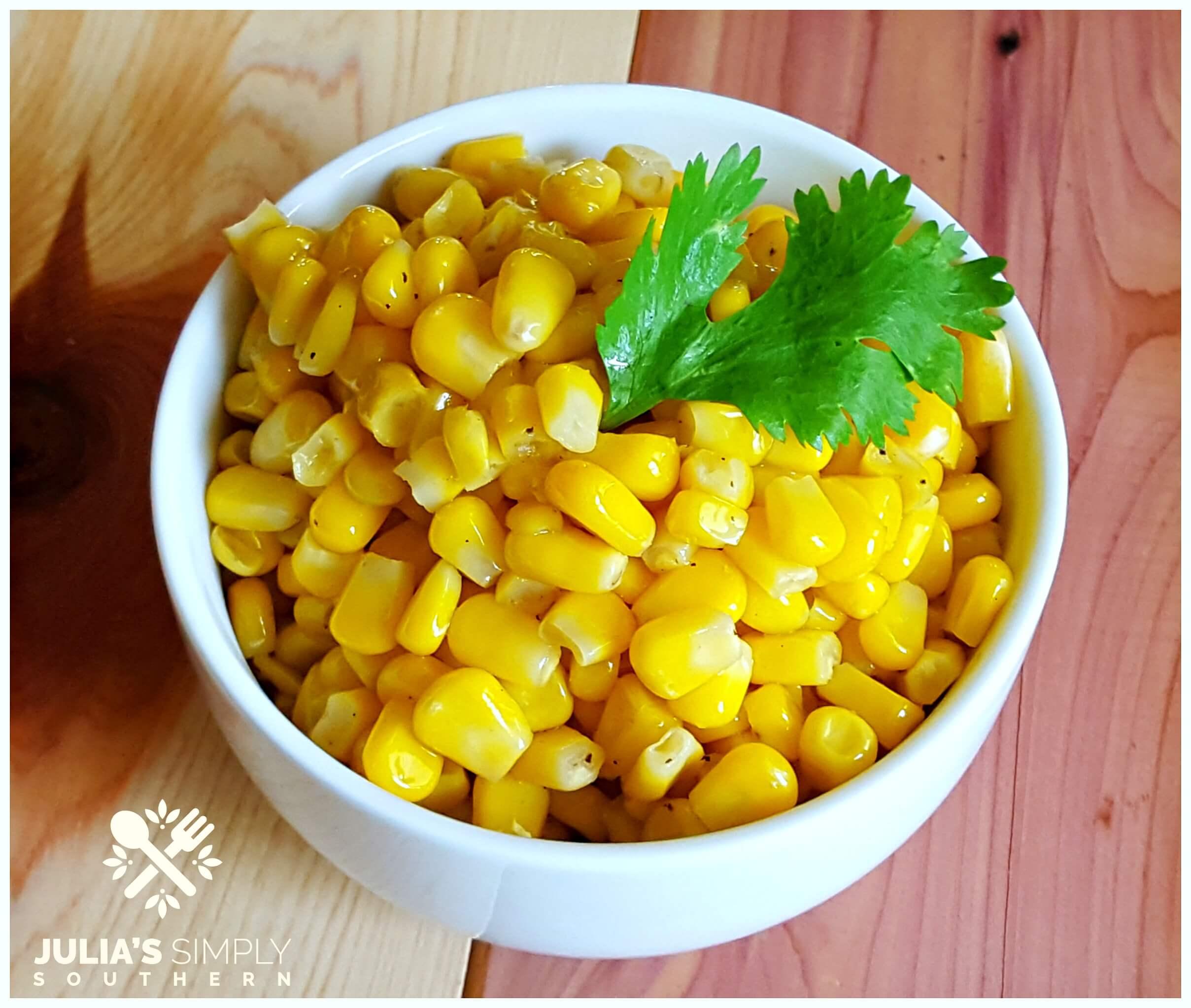 Classic fried corn recipe
